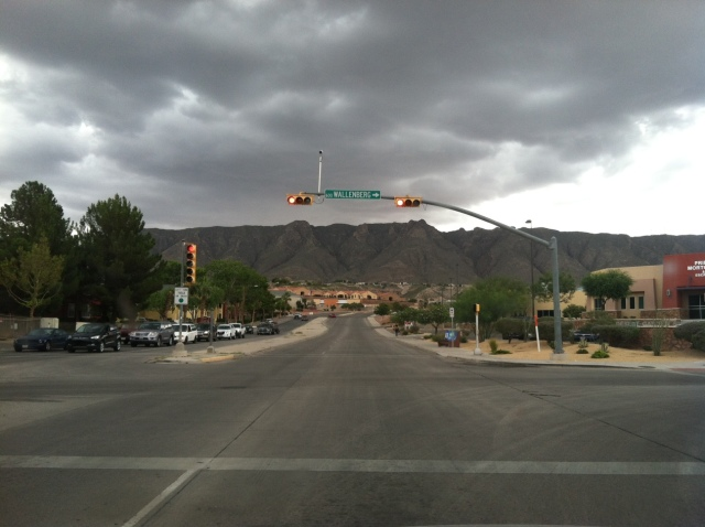 A Cloudy Day Is Photo Worthy In El Paso